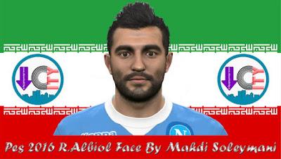 PES 2016 R. Albiol Face By Mahdi Soleymani