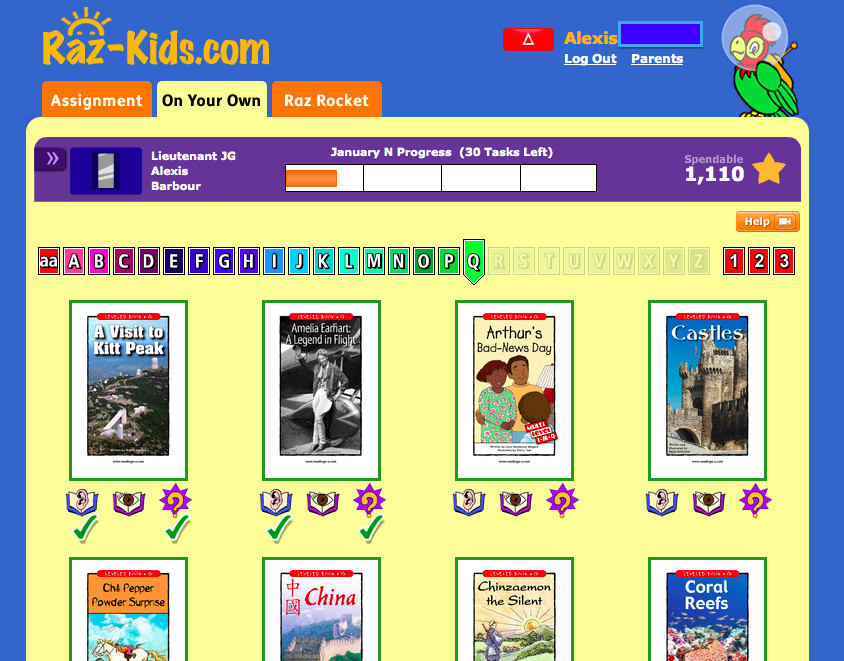 Raz-Kids Helps Students Level Up to Better Reading