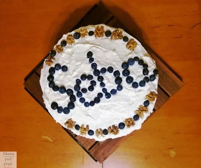 Tort na urodziny... bez cukru
