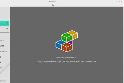 Install LibreOffice Di Manjaro Linux