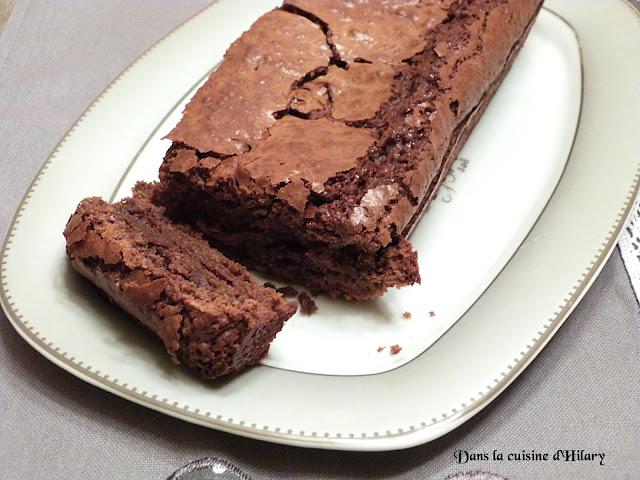 Gâteau fondant au chocolat praliné