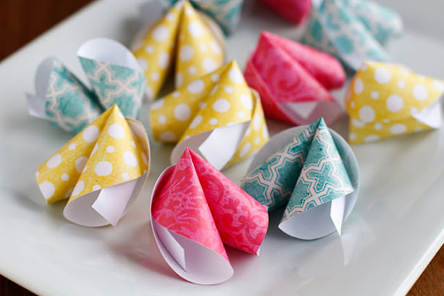 Papier fortune Cookies