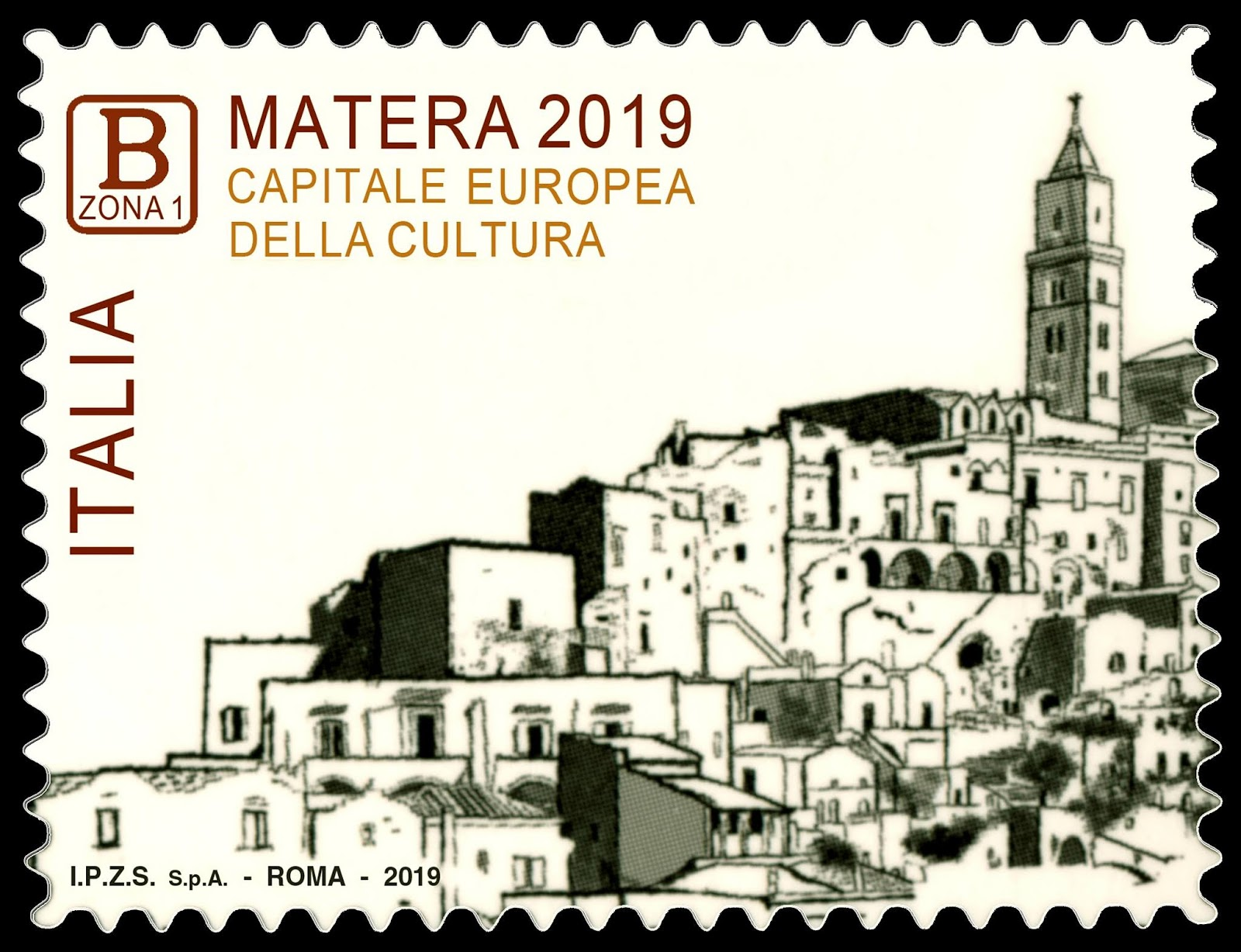GULFMANN STAMPS WORLD: ITALY ~ 2019 European Cultural Capital City