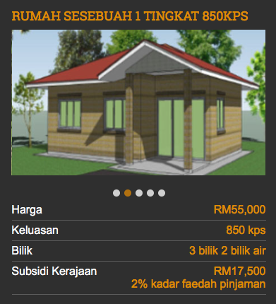 Tips Cara Mohon Bantuan Rumah Mesra Rakyat RMR 1 Malaysia 3
