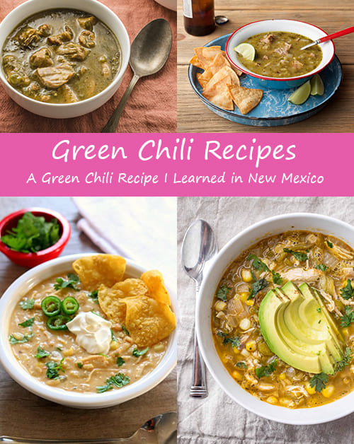 Green Chili Recipes