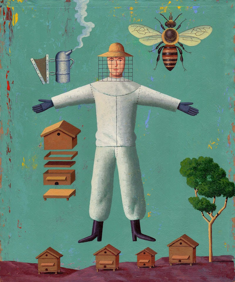 10 ilustradores más reconocidos, Martin Jarrie
