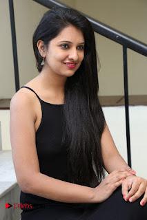 Actress Nikita Bisht Pictures in Black Long Dress at Akritti Elite Exhibition Launch  0045.jpg