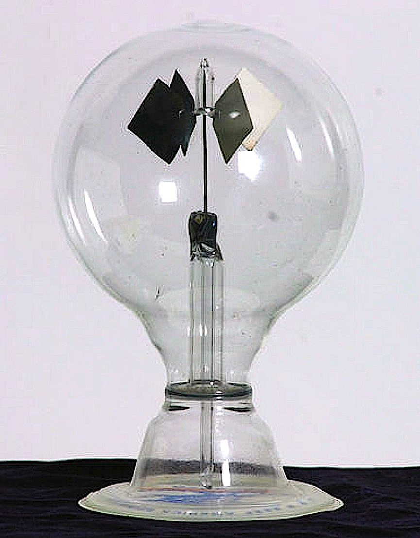 1960s toy radiometer photograph