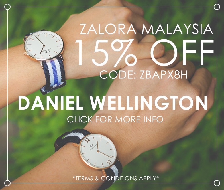 15% off on Daniel Wellington Watch