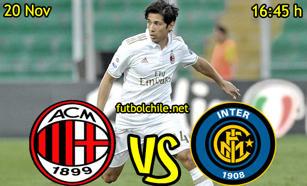 Ver stream hd youtube facebook movil android ios iphone table ipad windows mac linux resultado en vivo, online:  Milan vs Inter de Milán