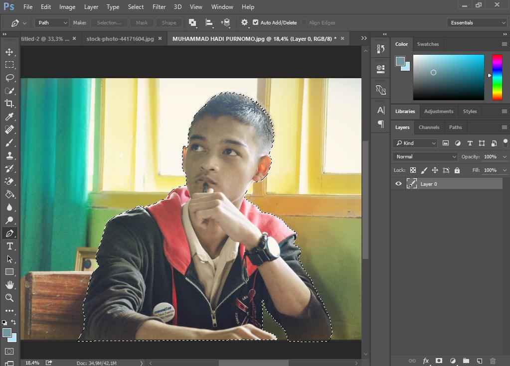 Membuat Foto Seperti Poster Hope Obama di Photoshop CS6