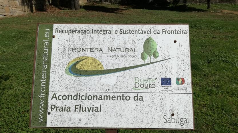 Acondicionamento da Praia Fluvial