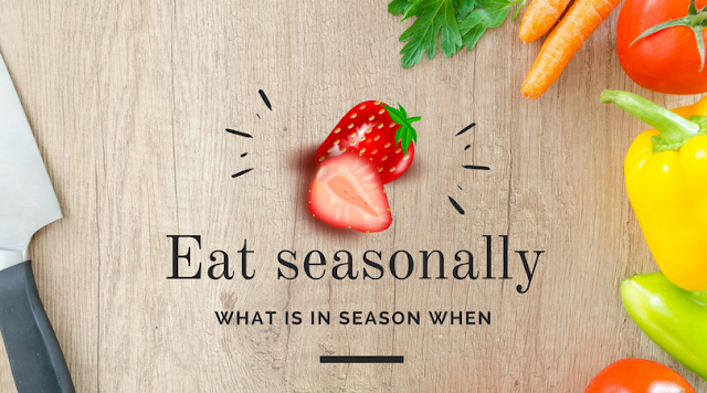 Eat seasonally - what is is season when