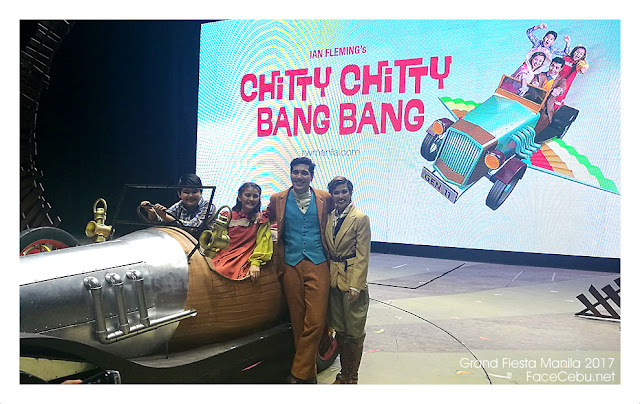 Chitty Chitty Bang Bang Main Casts with Gian Magdangal