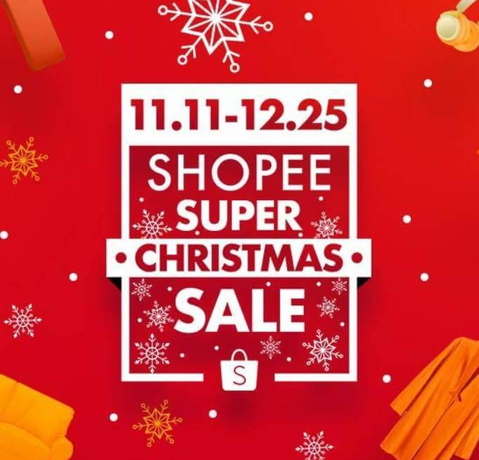 Shopee Celebrates Holidays with 12 Days of Christmas