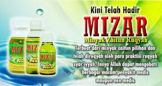 Minyak zaitun ruqyah(MiZaR) obat penyakit media non medis herbal sunah nabi