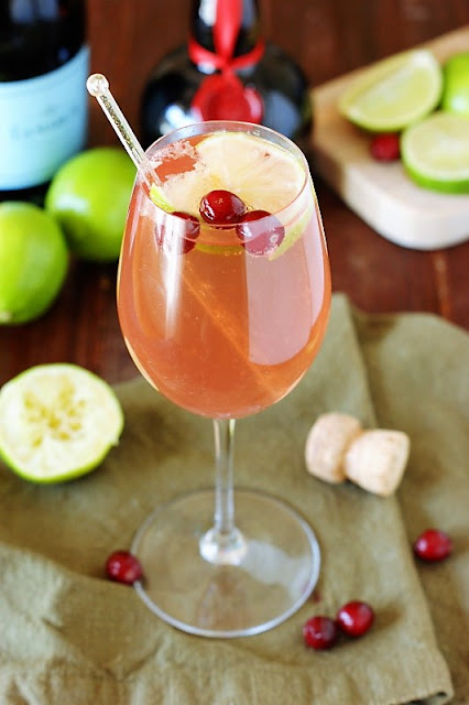 Cosmopolitan with Sparkling Wine Image