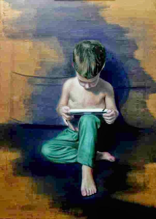 Портретная живопись в реалистичном стиле. Oscar Jimenez
