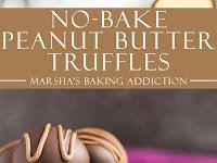 NO-BAKE PEANUT BUTTER TRUFFLES
