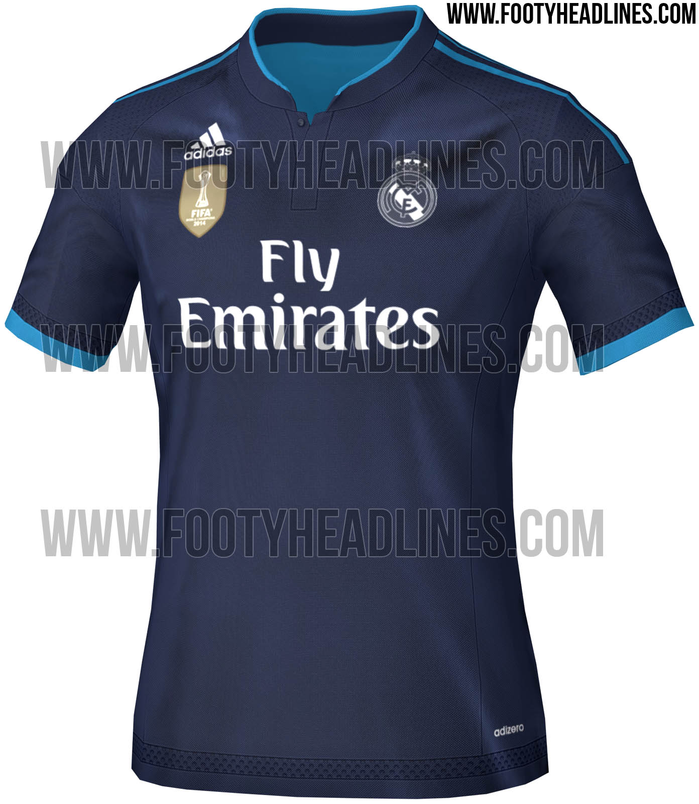 real madrid trikot 15 16