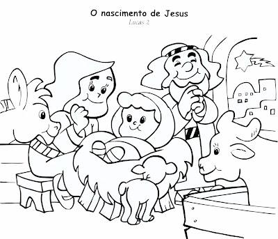Resultado de imagem para o nascimento de jesus para crianças