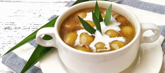 Resep Bubur Candil Klasik Dengan Siraman Kuah Santan