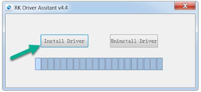 Install RockChip Driver Tool