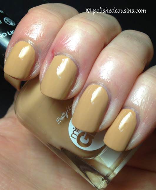 Sally Hansen Mirace Gel - How Nude