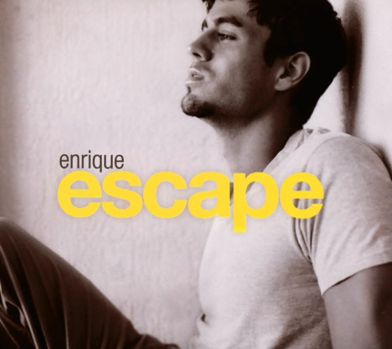 2001 Escape Enrique Iglesias Album Cover Art Enrique