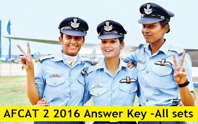 [DOWNLOAD] AFCAT 2 2016 Answer Key, Cutoff Expected