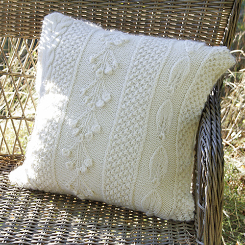 Snow Beads Pillow - Free Pattern