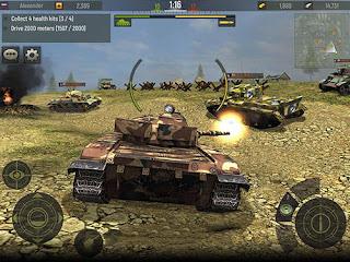 Download Game Grand Tanks Tank Shooter Game V2.63 Mod Apk + Data