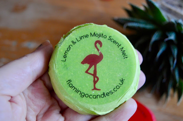 flamingo candles wax melt review