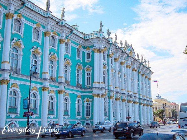 The Hermitage - The Winter Palace - Everyday Living blog