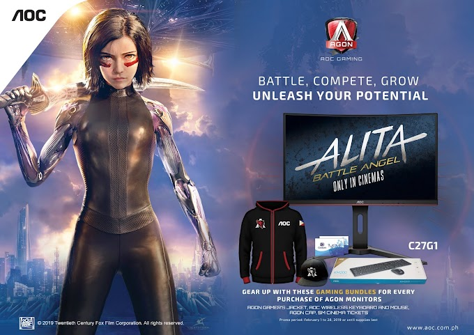 AOC Partners with Twentieth Century Fox for Alita: Battle Angel Premier Screening
