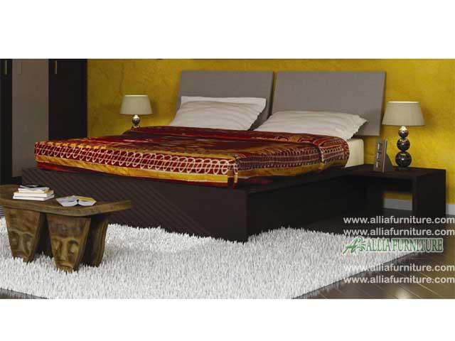 tempat tidur minimalis modern model deco