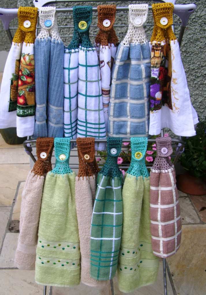 title | How To Make Crochet Hanging Kitchen Towels