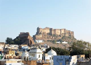 El fuerte de Jodhpur domina la ciudad