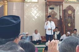"""Jokowi di Masjid Istiqlal Bandar Jaya Sampaikan Berita Hoaks """"Tidak Boleh Adzan"""""""