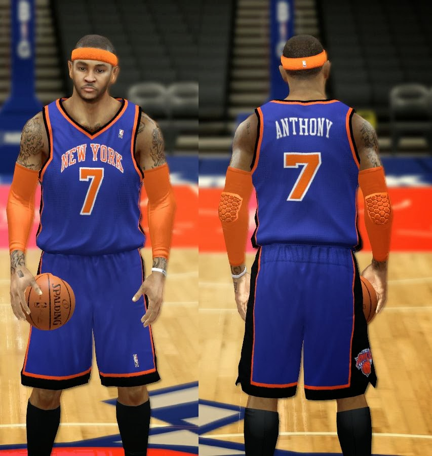 NBA 2K14 Complete New York Knicks Jersey Patch