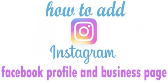 how to add instagram to facebook page 2017