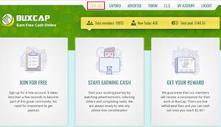 BUXCAP Earn Free Cash Online