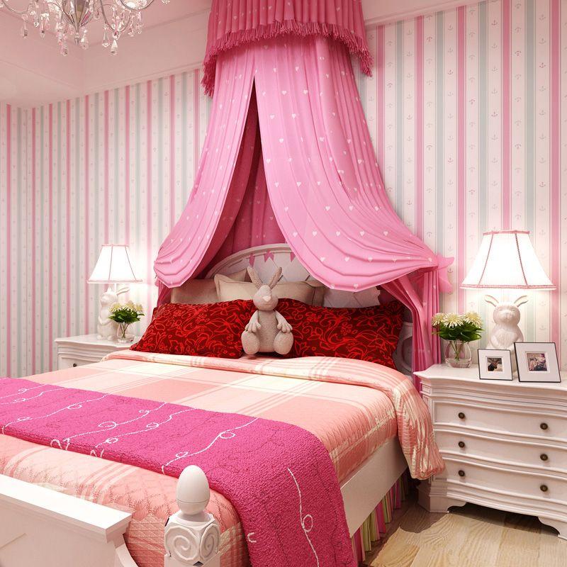 Dormitorios color rosa para ni as colores en casa - Dormitorios color rosa ...