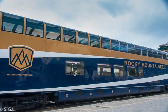 Tren Rocky Mountaneer Jasper Vancouver