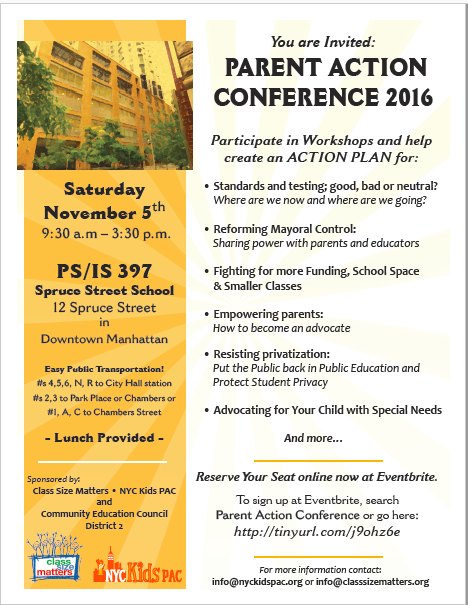 Empowering Parents In Special Education >> Nyc Public School Parents Please Join Us At Our Parent Action