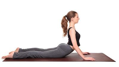 Động tác yoga rắn hổ mang