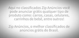 Zip anúncios|Anuncie gratuitamente e rapidamente