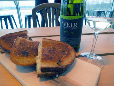 Mike Weir Limited Edition Riesling with Grilled Cheese by The Yellow Pear