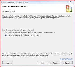 Cara Simple Aktivasi Microsoft Office 2007 Profesional