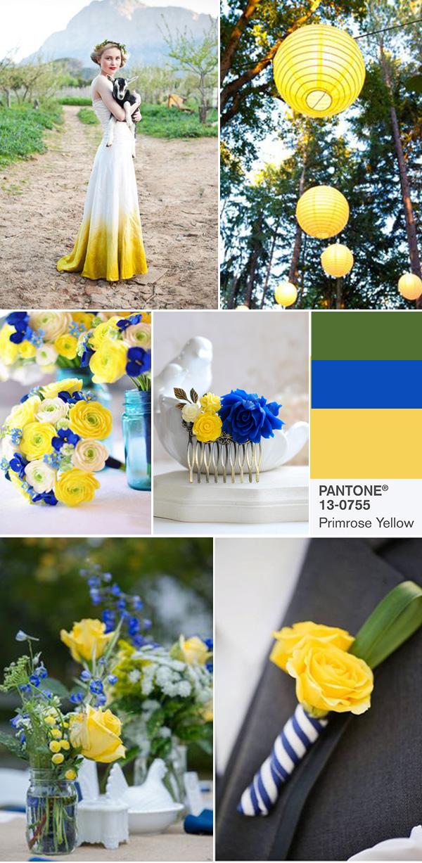 2 Primrose Yellow Pantone 13 0755